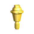 Try-in Multi-unit Abutment CC RP 1.5 mm