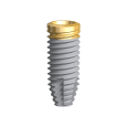 NobelParallel Conical Connection TiUltra RP 5.0 x 13 mm