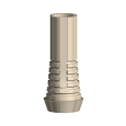 Temporary Abutment Plastic Non-engaging Brånemark System RP
