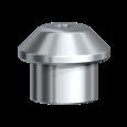 Заживляющий колпачок широкий Multi-unit титановый Ø 5,0 x 5.5 мм, 2 шт./уп.