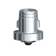 Универсальный абатмент On1 без захвата RP 1,25 мм