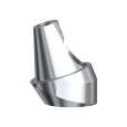 Угловой абатмент с винтом 17°3 мм RP