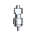 Трансфер для открытой ложки 6 мм D 5,0 HL/NobelReplace