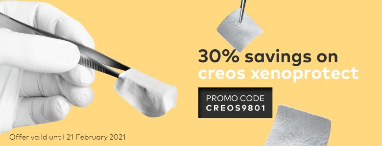 30% savings on creos xenoprotect. Use promo code CREOS9801