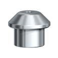 Healing Cap Wide Multi-unit Titanium Ø 5.0 x 5.5 mm 2/pkg